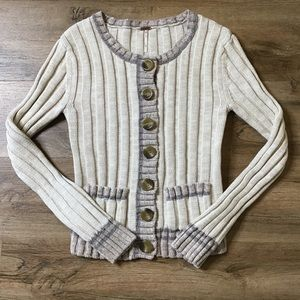 Free People Anthropologie Sweater AngoBlend Size S